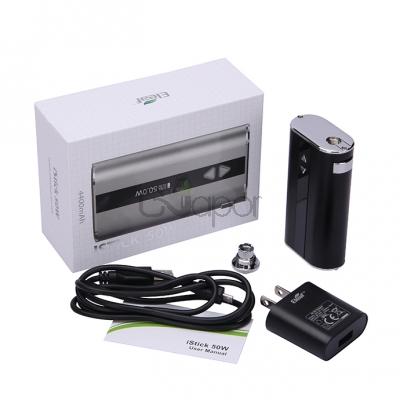 Eleaf   iStick 50W VV/VW Mod Kit with Wall Adaptor