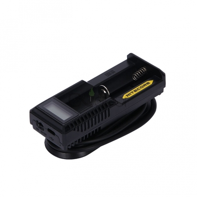 Nitecore UM10 Single Bay Charger with LCD Display
