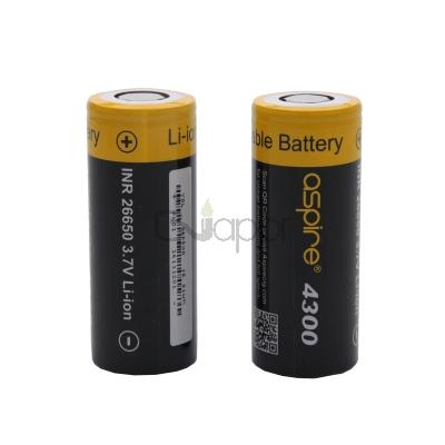 Aspire INR26650 battery