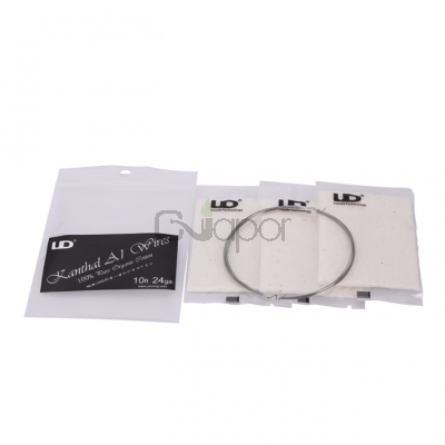 Youde UD Cotton & Wire Kit RDA Rebuildable Atomizer Resistance Wire kanthal -A1 wire