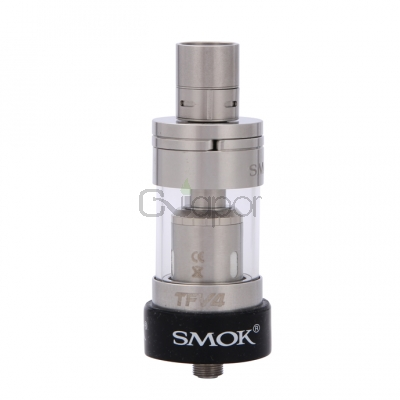 SMOK TFV4 Atomizer Kit  5 ML Capacity Sub Ohm Tank Kit - silver