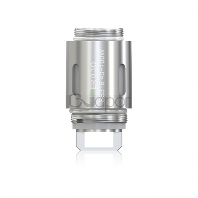 5PCS Eleaf ER 0.3ohm SS316 Coil Head for Melo RT 22 Atomizer