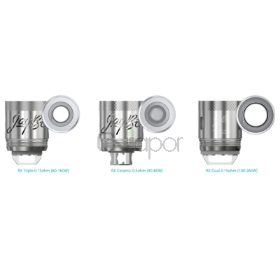 5PCS Wismec RX Series Replacement Coil Heads for REUX Tank
