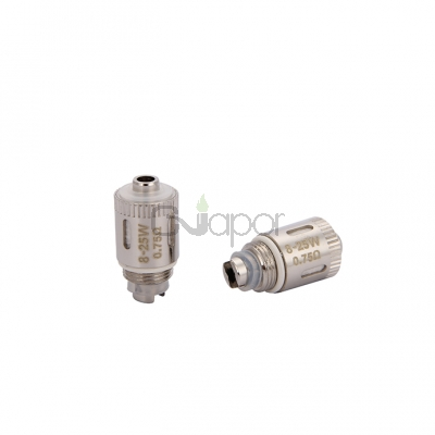 5PCS Eleaf GS Air Pure Cotton Coil Head with Kanthal Wire  0.75ohm
