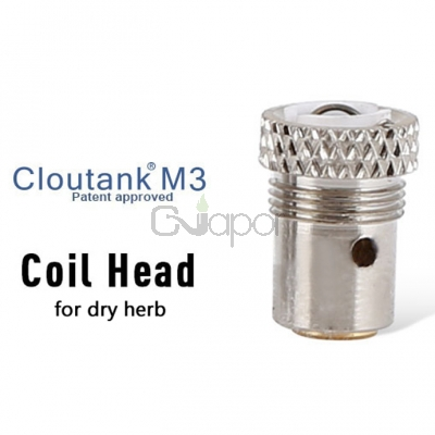 Cloupor Coil Head for Cloutank M3  Dry Herb