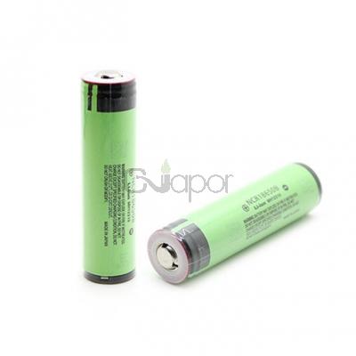 2PCS Panasonic NCR18650B 3.7V 3400mAh 18650 Rechargeable Li-ion battery