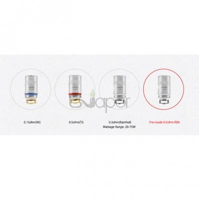 5PCS Wismec Amor Plus Atomizer Replacement Coil Heads