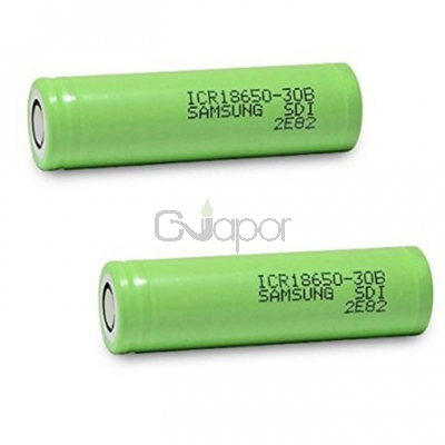 2pcs Samsung  ICR 18650 3.7V 30B 3000mAh Li-ion Batteries