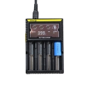 Nitecore D4 Digicharger with 4 channels