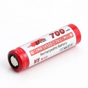 5PCS Efest IMR 3.7V 14500 700mah Rechargeable Battery Button Top