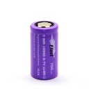 5PCS Efest 10.5A 18350 700mah High Drain Rechargeable Battery Flat Top