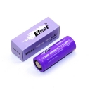 2PCS Efest 15A 18500 1000mah High Drain Rechargeable Battery Flat Top