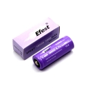 2PCS Efest 15A 18500 1000mah High Drain Rechargeable Battery Button Top