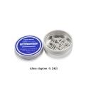 Vapor Storm SS316L Alien Clapton 0.24ohm 0.3*0.8FLAT+32GA Prebuilt Wires