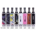 Innokin iClear 16B Dual Coil Clearomizer + Vision Vapors iBox VV/VW Multi-functional Mod with Eleaf ego Connector for iStick