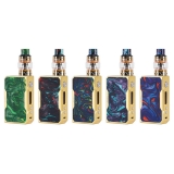 VOOPOO Gold Frame Drag TC Kit with 157W Pioneer Super Mode and 5ml Uforce Tank