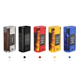 Joyetech Cuboid TAP 228W OLED Screen Box Mod Powered by Dual 18650 Cells