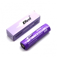 Efest 35A IMR 18650 2500mah High Drain Rechargeable Battery Flat Top