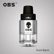 OBS Frost Wyrm 3.3ml RTDA Top Airflow Side-filling Atomizer