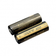 2PCS Aspire INR 21700 3.7V High Rate 40A 4000mah Li-ion Battery