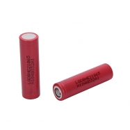 2pcs LG HE2 18650 3.7V 2500mAh 35A Rechargeable Flat Top batteries