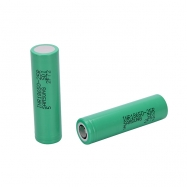 Samsung 25R 18650 2500mAh  Flat Top Battery 2 PCS