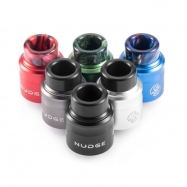 Wotofo Nudge RDA 24mm Atomizer with a 510 Drip Tip Adapter