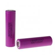 2pcs LG DAHD2 25A 18650 2000mah Li-ion Rechargeable Battery