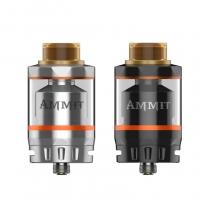 Geekvape Ammit dual coil RTA 3ml/6ml Tank Atomizer - black, ss