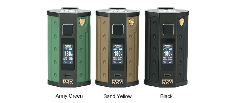 DEJAVU DJV D7 Mod Colors