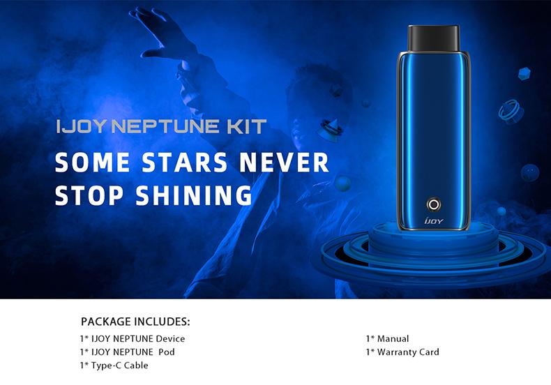 Neptune Vape Pod Kit Package