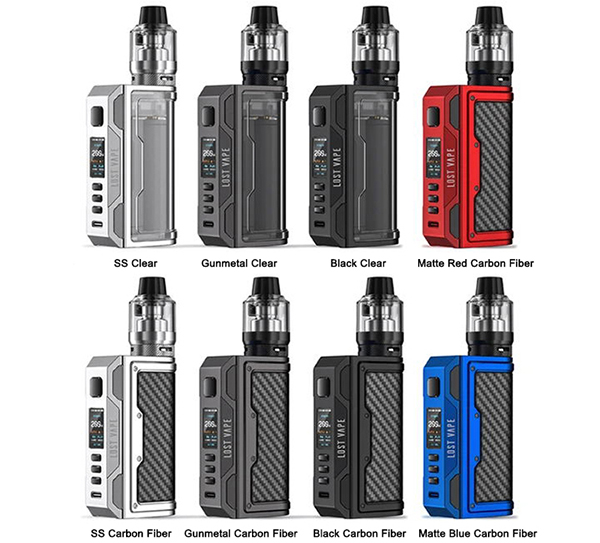 Lost Vape Thelema Quest Kit Colors