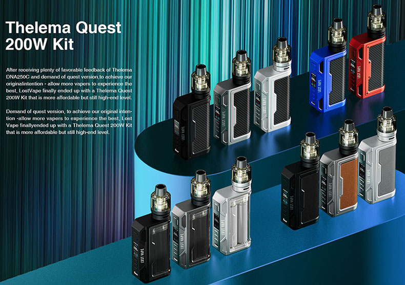Lost Vape Thelema Quest Kit Coming