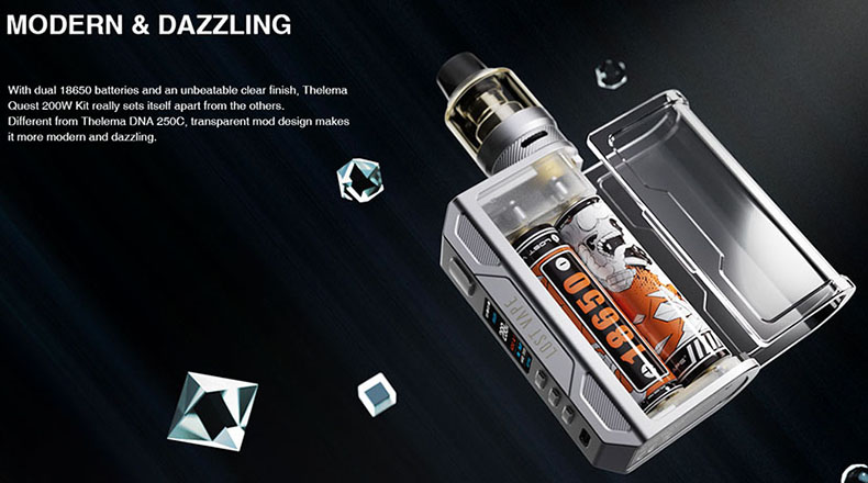 Lost Vape Thelema Quest Kit Modern Look