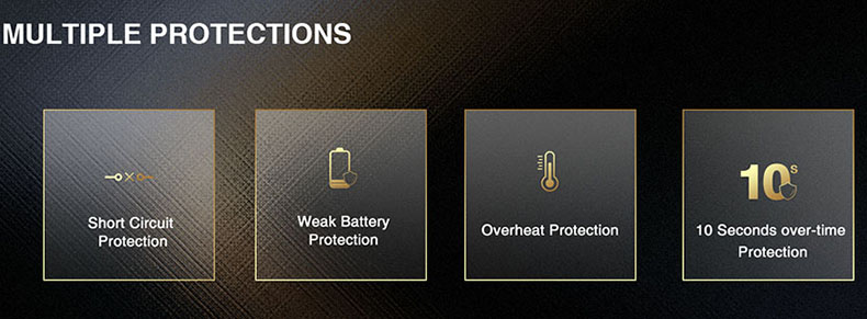 Lost Vape Thelema Quest Kit Protections