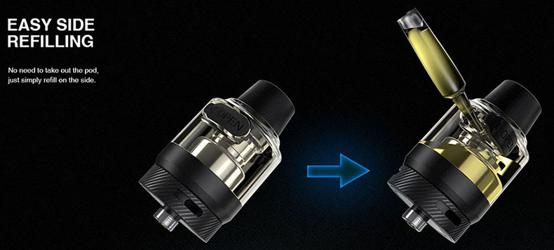 Lost Vape Thelema Quest Kit Side Filling