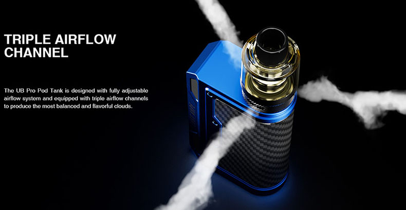 Lost Vape Thelema Quest Kit Triple Airflow
