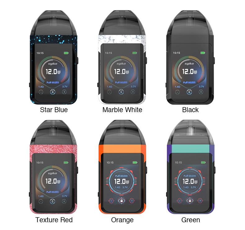 Syiko SE Pod System Kit Colors