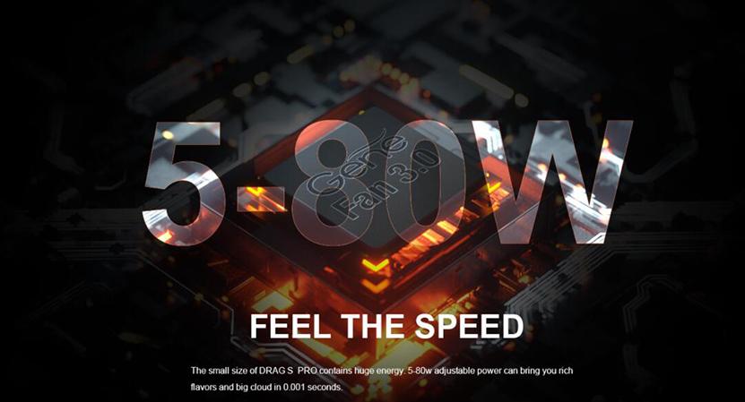 VOOPOO Drag S Pro Kit Adjustable Power