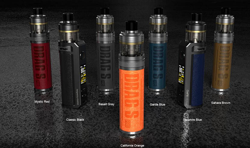 VOOPOO Drag S Pro Kit Colors Available