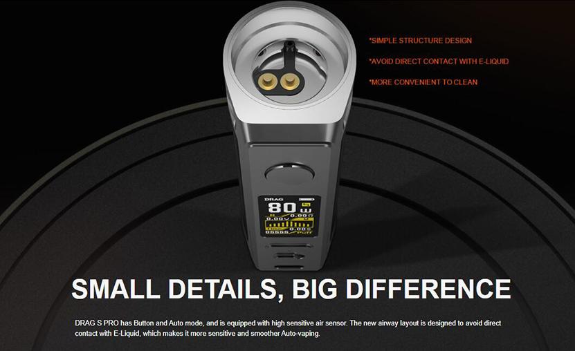 VOOPOO Drag S Pro Kit Details