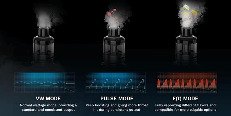 Vaporesso Target 80 Kit Modes