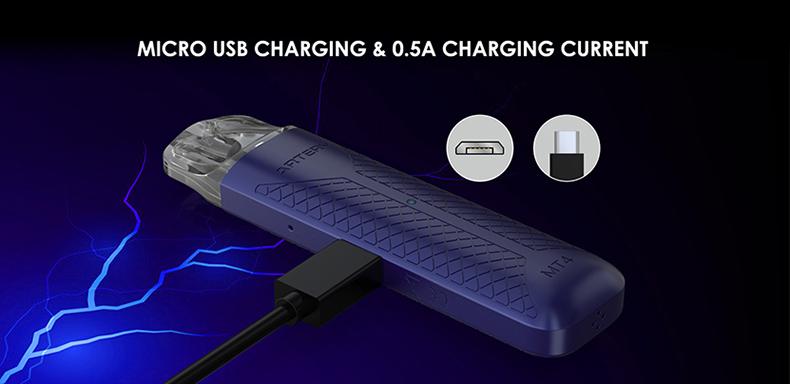 Artery MT4 Pod System Kit 0.5A USB Port