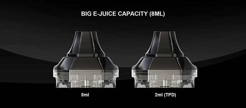 Nugget GT Pod Mod Kit Juice Capacity