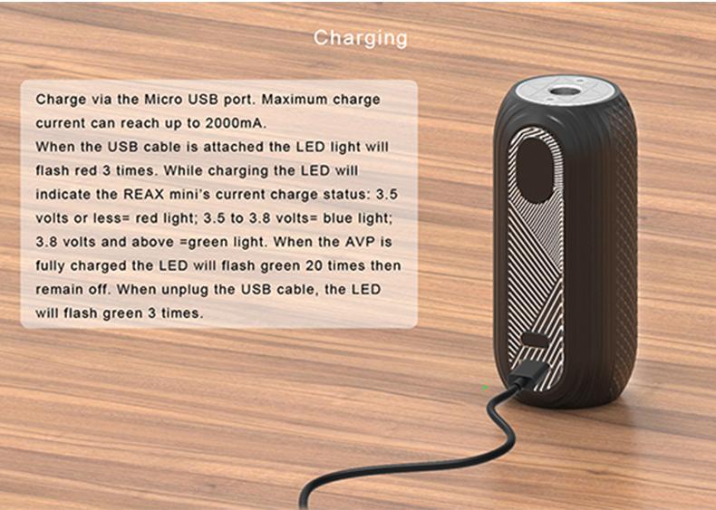 Reax Mini Mod Charging