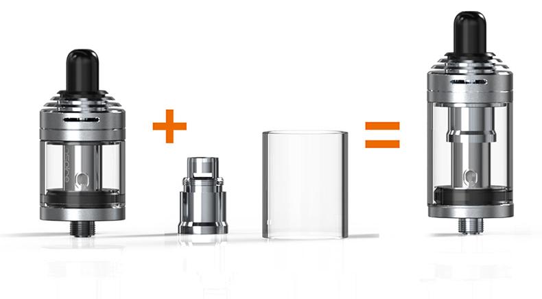 Aspire Rover 2 Starter Kit Glass Tube