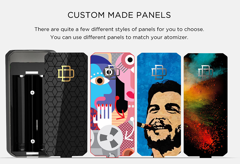 Druga Foxy Box Mod Panels