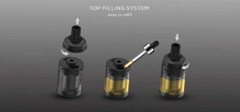 Augvape Intake MTL Rebuildable Tank Atomizer Top Filling