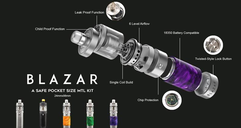 CoilART BLAZAR MTL Kit Component
