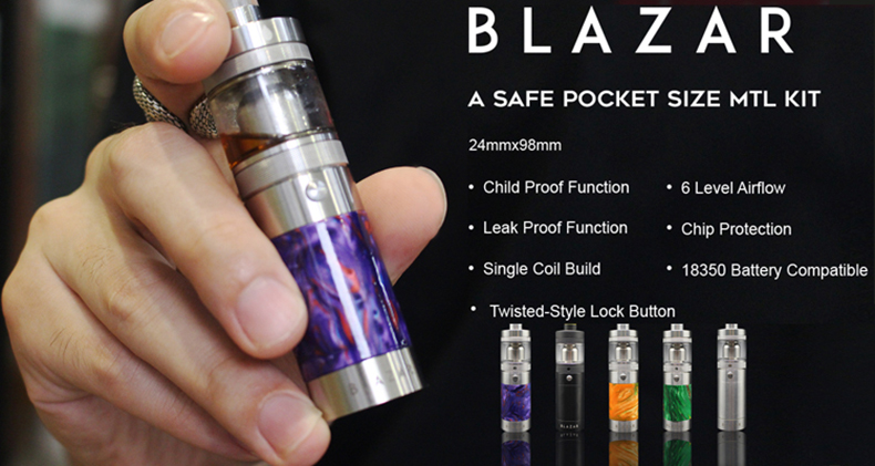 CoilART BLAZAR MTL Kit Features